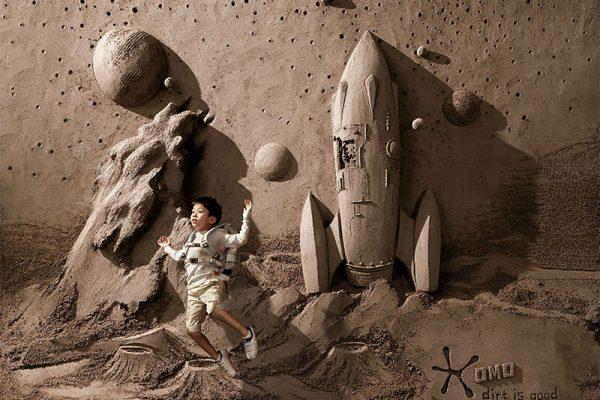 sculptures de sable jooheng tan 02 600x400 - Sculptures de Sable en Haut et Bas Relief par JOOheng Tan
