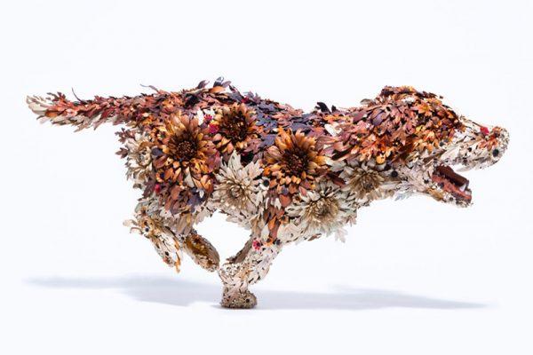 sculptures taiichiro yoshida art 01 600x400 - Sculptures d'Animaux et d'Oiseaux en Métal par Taiichiro Yoshida