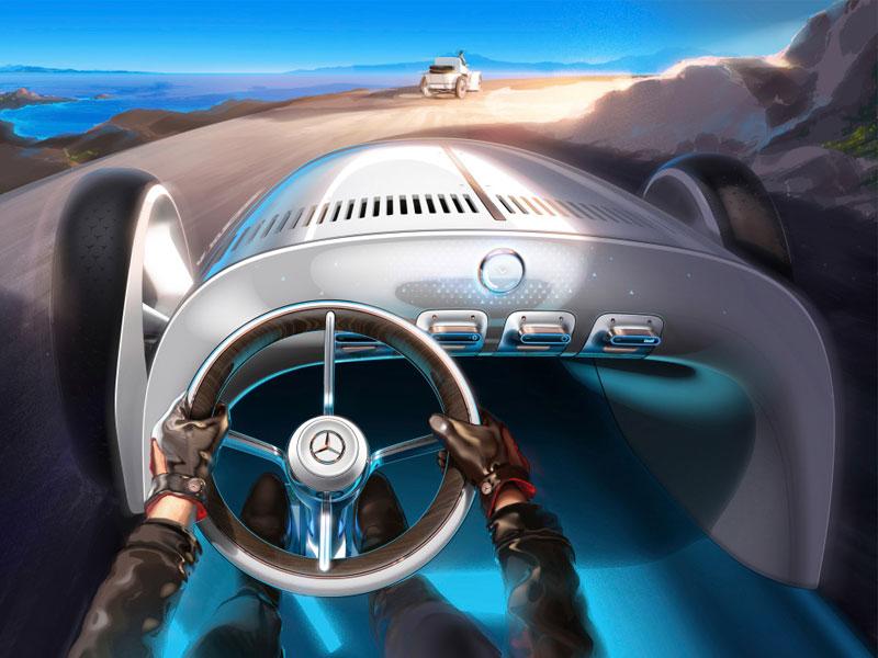 Vision Mercedes Simplex, Avec Vision, Mercedes Reinvente sa Simplex de 1901