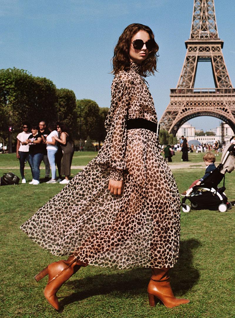 Zara francaise chic, Giselle Norman en Parisienne pour Zara Femme