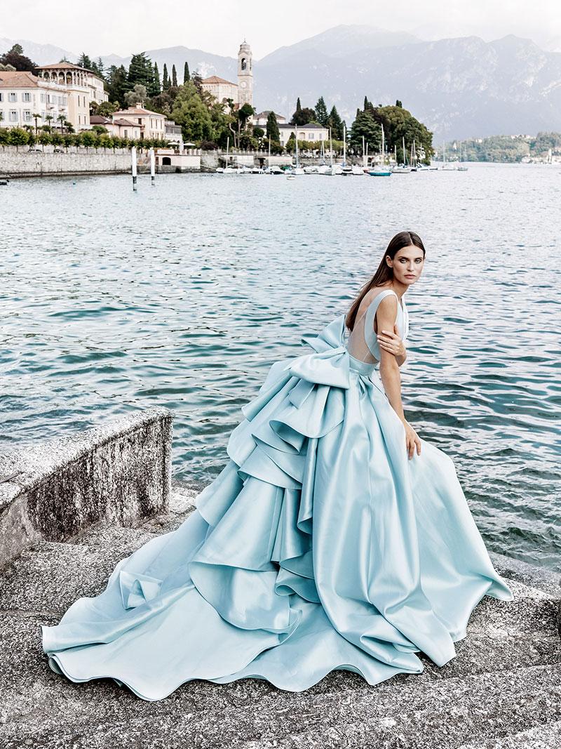 Alessandro Angelozzi robes de mariées 2020, Robes de Mariées Alessandro Angelozzi 2020 au Lac de Côme