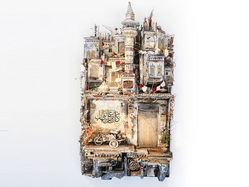 dioramas Mohamad Hafez, Le Conflit en Syrie Raconté en Dioramas par Mohamad Hafez
