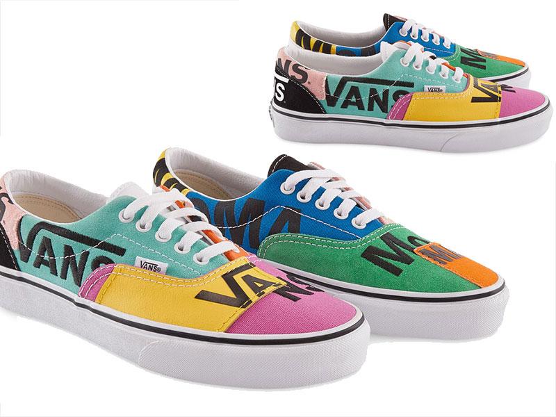 vans chaussure couleur