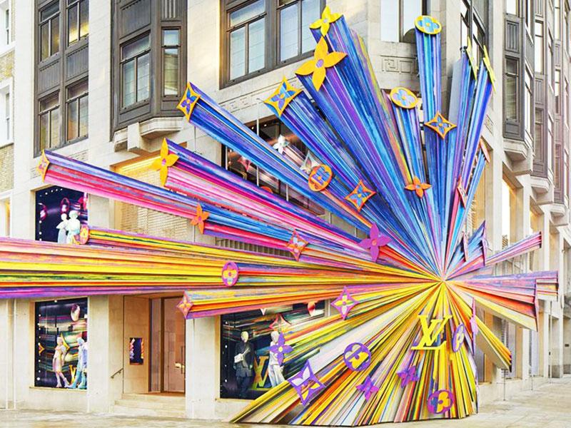 Louis Vuitton Londres, Monogramme Géant pour la Boutique Louis Vuitton de Londres