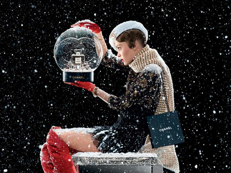 Chanel N°5 l'Eau, Chanel N°5 l'Eau, un Conte de Noël pour Lily-Rose Depp (video)