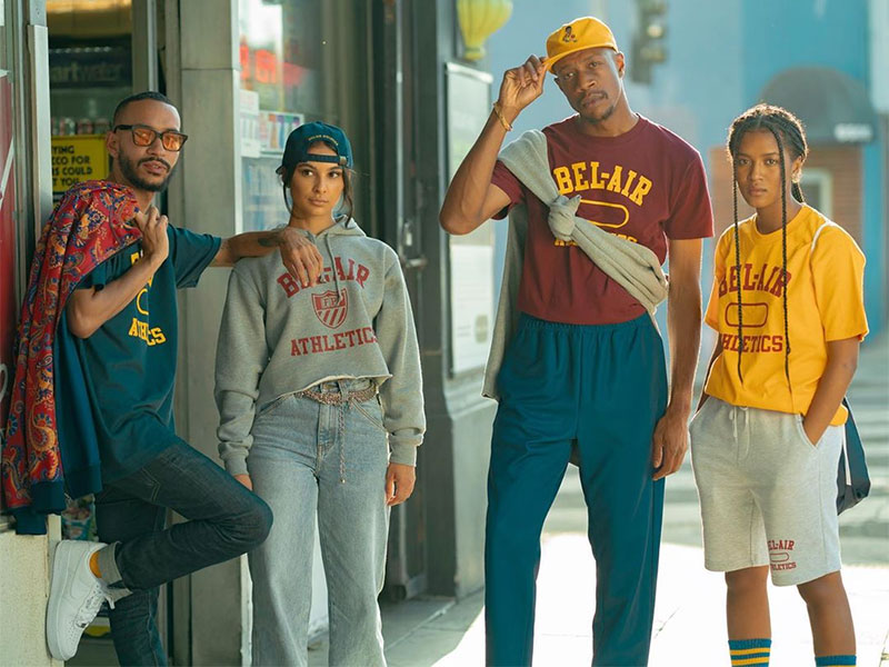 Will Smith Bel Air Athletics, Bel Air Athletics, Will Smith a sa Collection de Vêtements