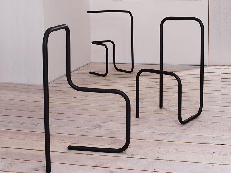FurniType, FurniType, Lorsque la Typographie se Fait Mobilier Design