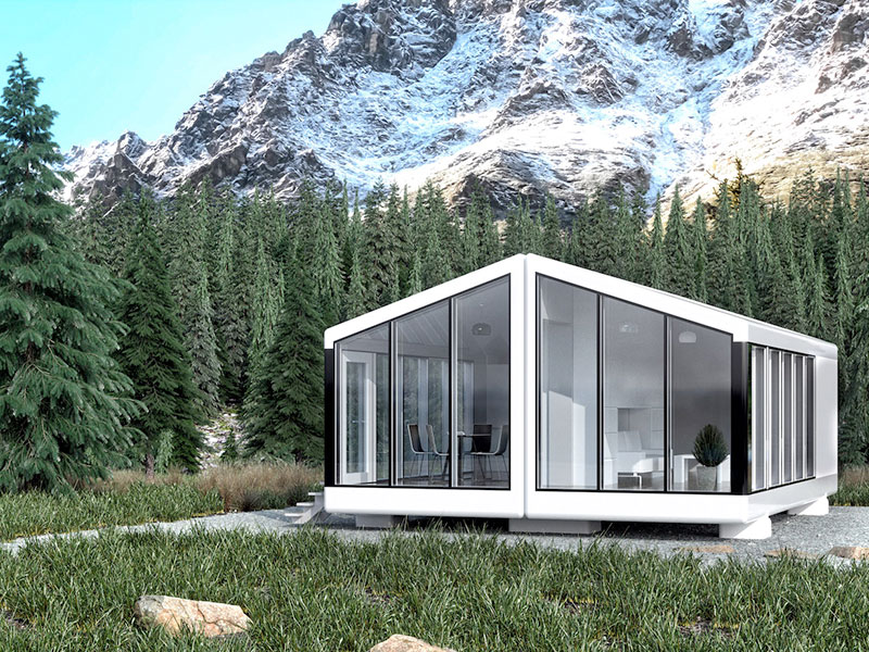 maison Haus Me, Haus Me, la Maison Autonome et Mobile à Installer Partout (video)