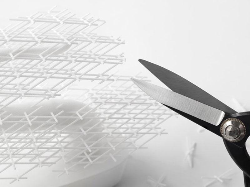 Grid-Bonsai Nendo, Nendo Grid-Bonsai, un Bonsaï en Plastique Imprimé en 3D