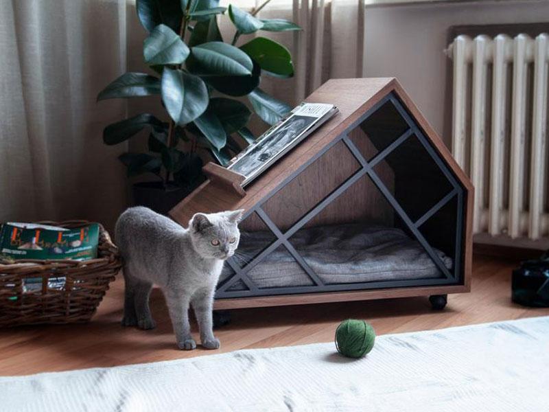 Petture meubles chats chiens, Petture Meubles Design en Bois pour Chiens et Chats