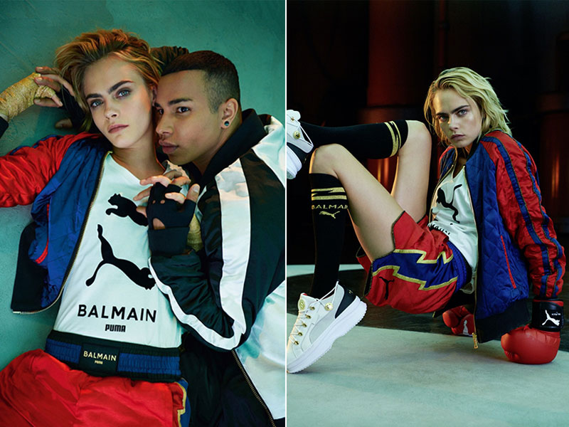 PUMA Balmain, PUMA x Balmain, une Collection Chic et Sportive (video)