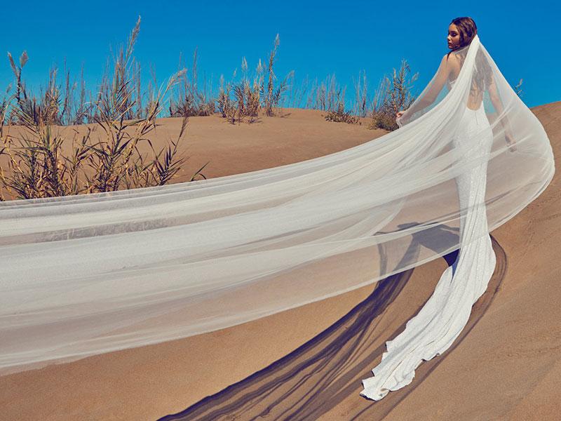 Robes mariées Ramon Herrerias 2020, Robes de Mariées Ramon Herrerias Ete 2020 sous un Ciel Bleu Azur