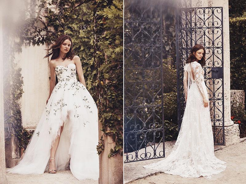 Monique Lhuillier robes mariées printemps 2020, Robes de Mariées Monique Lhuillier pour un Ete 2020 Enchanteur