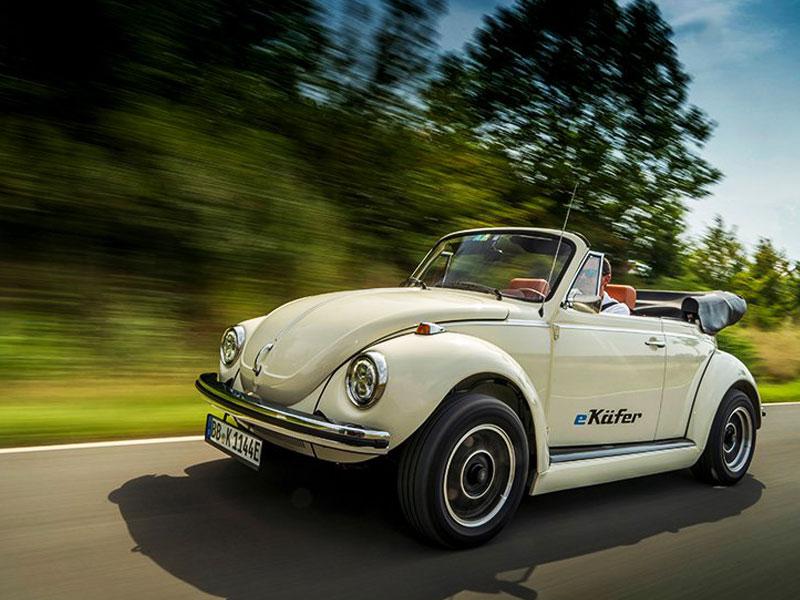 Sonderpreis für Straßenpreis Online gehen Volkswagen e-Beetle, Retour Electrique de la Coccinelle ...