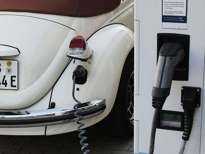 Volkswagen Coccinelle, Volkswagen e-Beetle, Retour Electrique de la Coccinelle Originale