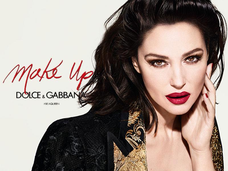 Dolce Gabbana maquillage campagne hiver 2019, Dolce & Gabbana Maquillage et ses Reines de Beauté