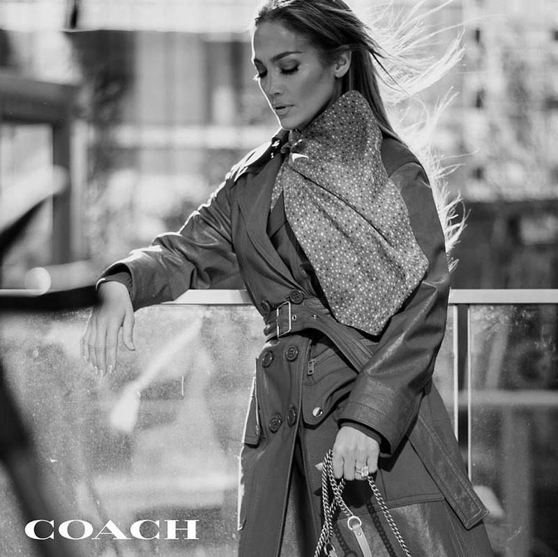 Jennifer Lopez, Jennifer Lopez Nouvelle Egérie de Coach New York