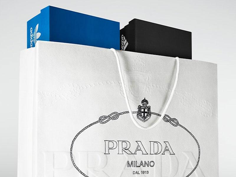 prada adidas, Adidas s'Habille en Prada pour une Collection Capsule