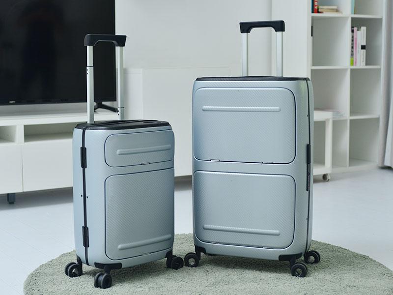 SkyTrek valise, SkyTrek, Valise Connectée à Ouverture Verticale (video)