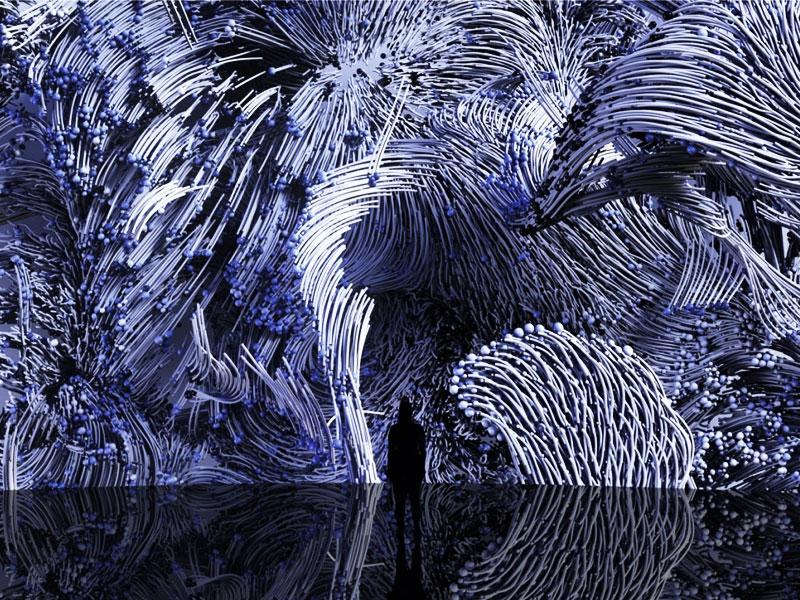 Bassins de Lumières art, Le Plus Grand Centre d'Art Numérique, ex Base Sous-Marine, Ouvre en France