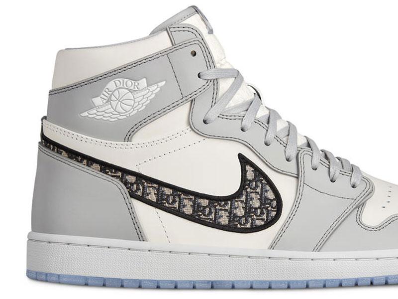 Dior Nike, Dior donne aux Baskets Nike Air Jordan 1 une Touche Chic