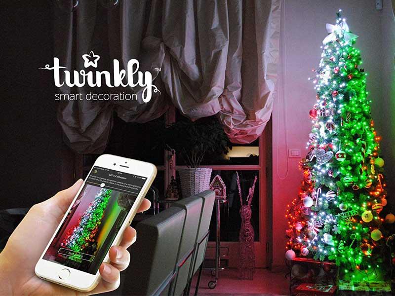 Twinkly, Twinkly II, Guirlandes LED Connectées aux 16 Millions de Couleurs (video)