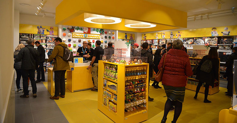 Lego Marseille, LEGO Store Ouvre aux Terrasses du Port de Marseille