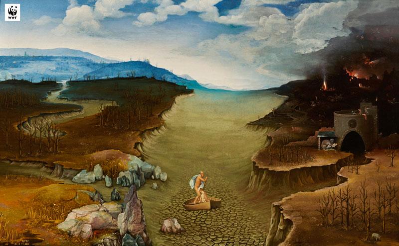 musée Prado changement climatique, Le Changement Climatique au Musée du Prado avec le WWF