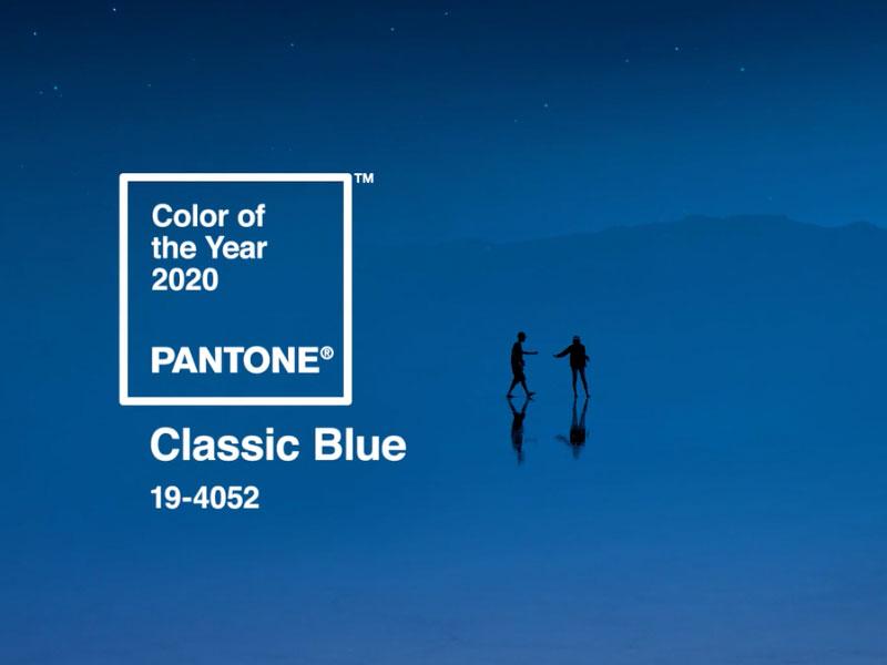 Pantone Classic Blue, Pantone Classic Blue, le Bleu Couleur de l'Année 2020 (video)