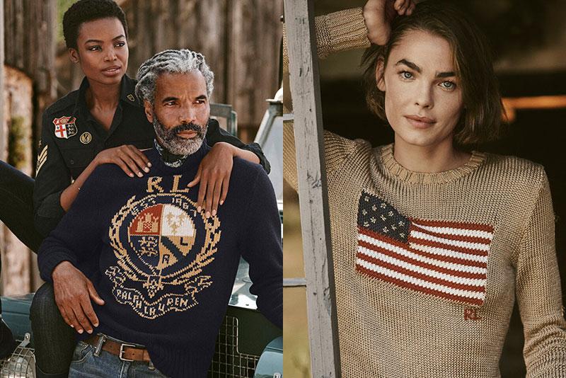 Ralph Lauren campagne, Ralph Lauren s'offre une Fin d'Année au Grand Air