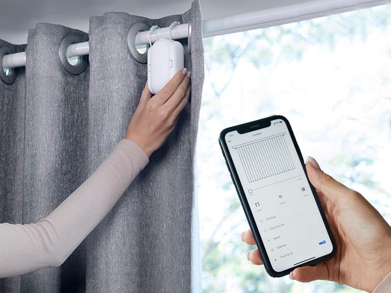 Switchbot Curtain, Switchbot Curtain Rend vos Rideaux Automatiques et Connectés (video)
