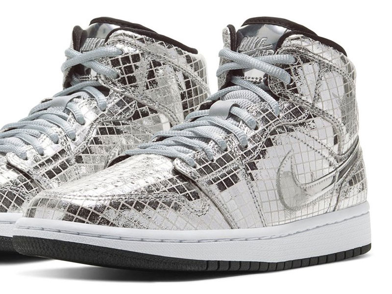 Air Jordan 1 Discoball, Air Jordan 1 Discoball, Baskets aux Airs de Boule Disco