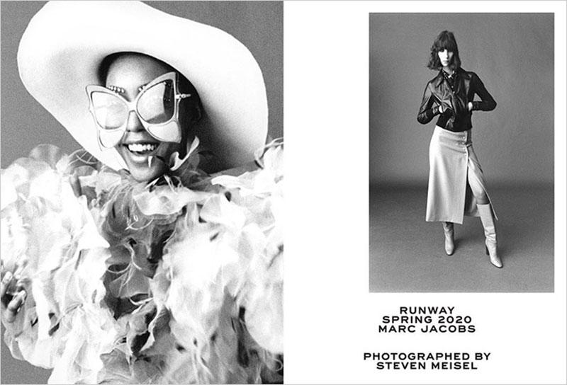 Campagne Marc Jacobs été 2020, Portraits en Noir et Blanc pour Marc Jacobs Été 2020