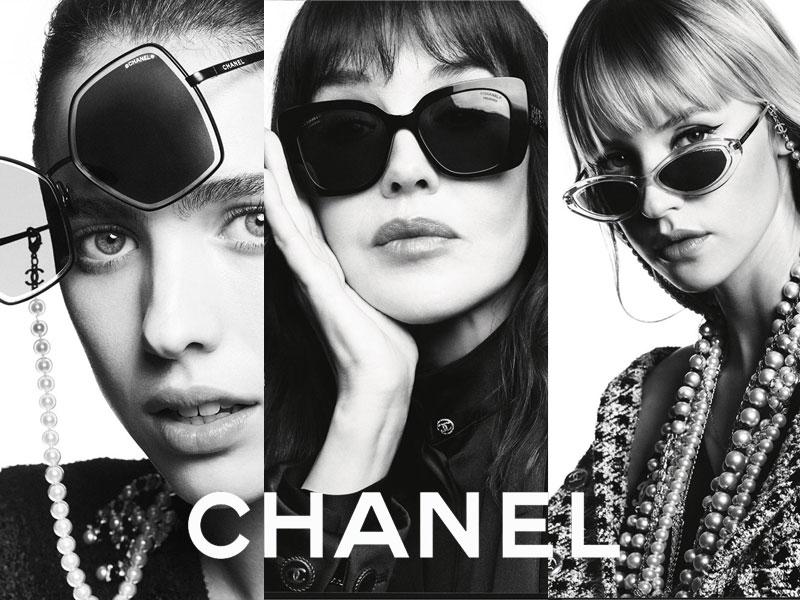 Chanel Eyewear printemps été 2020, 5 Stars en Lunettes de Soleil Chanel Ete 2020