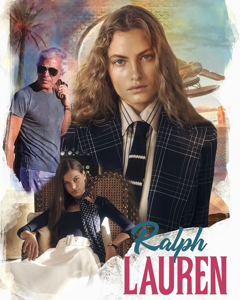 Ralph Lauren été 2020, Ralph Lauren Rend Hommage aux Films des Années 50