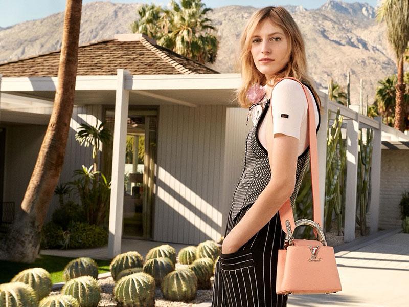 sac Capucines Louis Vuitton été 2020, Le Sac Capucines Louis Vuitton en Californie cet Eté