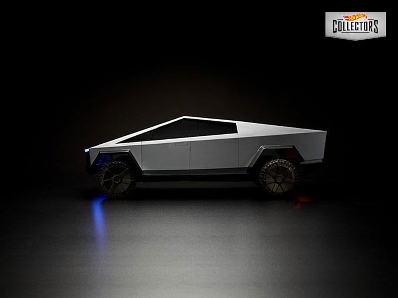 Tesla Cybertruck, Tesla Cybertruck en Jouet Radio Commandé chez Mattel (video)