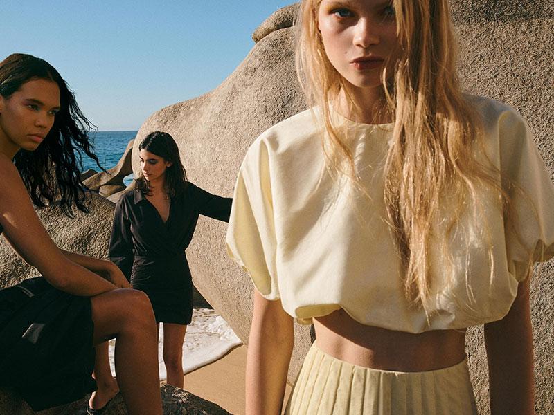 Zara TRF femmes été 2020, Zara TRF Femmes un Ete aux Couleurs Eclatantes et Ensoleillées