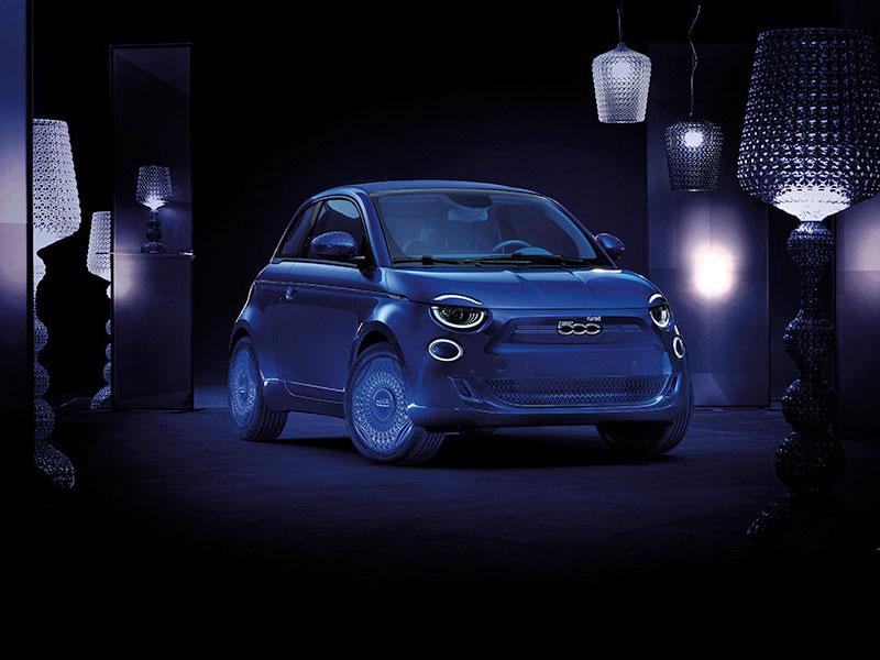 Fiat 500 La Prima, Fiat 500 Electrique 'La Prima' avec Armani, Bulgari, Kartell (video)