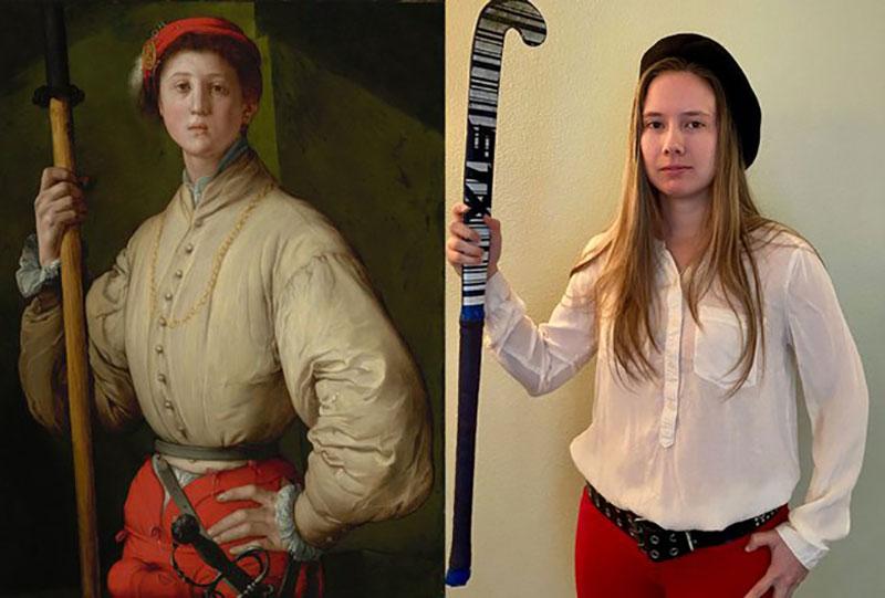 Getty Museum, Getty Museum demande aux Confinés de Parodier les Oeuvres d'Art