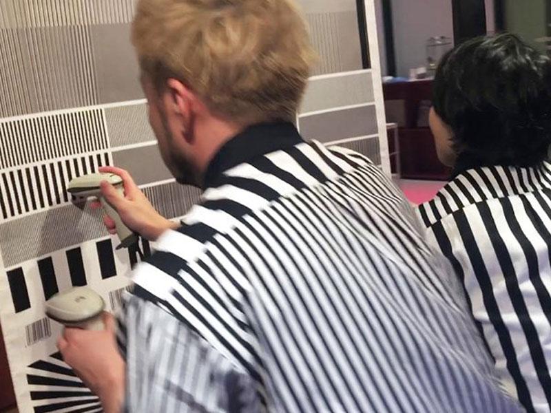 musique Code-barres, Musique en Code-barres par Electronicos Fantasticos (video)
