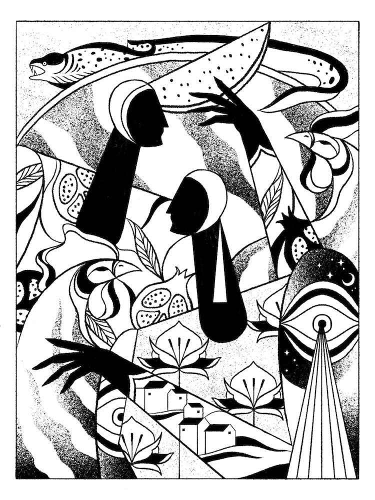 illustrations Colorier, Planches de Coloriage Gratuites Offertes par des Artistes
