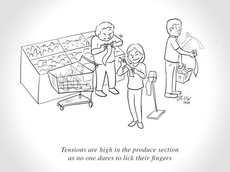 illustrations confinement Alison Wong, Elle illustre en BD avec Humour sa Vie de Confiné