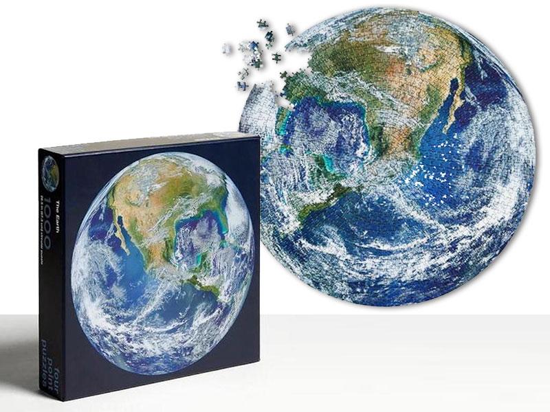 puzzle terre, The Earth, le Puzzle qui Célèbre la Beauté de la Terre