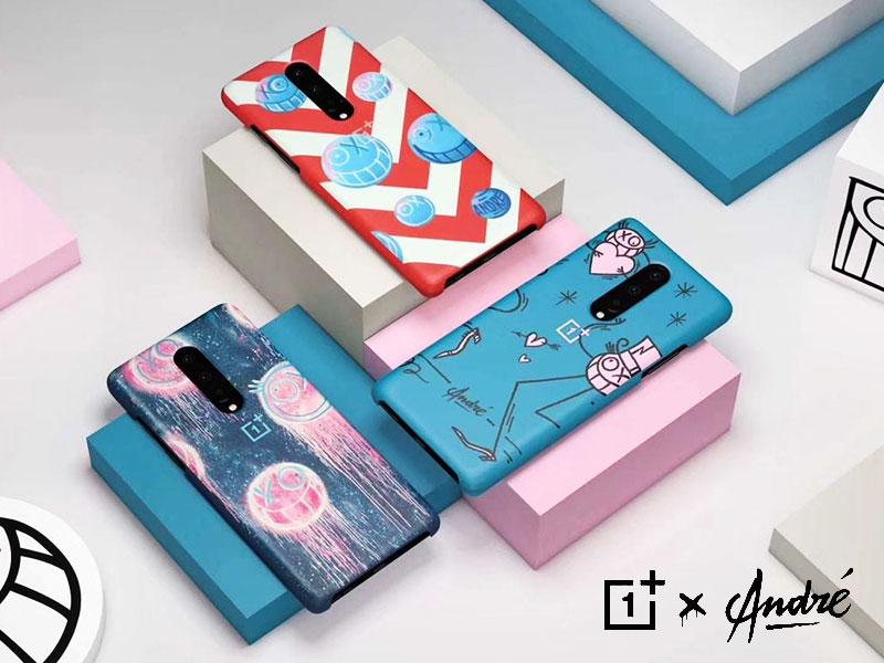 OnePlus André, Coques OnePlus 8 par l'artiste André en Edition Limitée