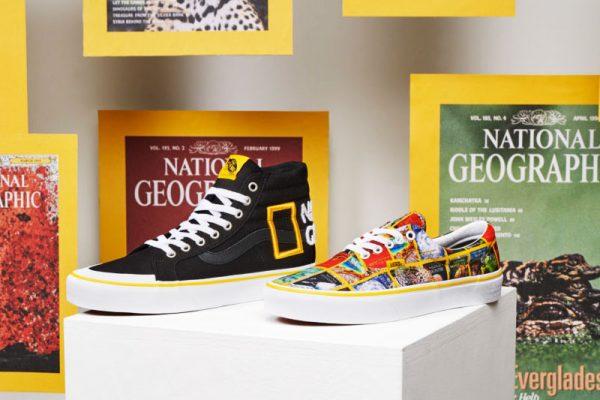 Vans National Geographic, Vans x National Geographic, les Baskets des Aventuriers