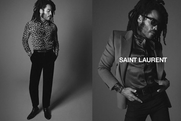 Saint Laurent Lenny Kravitz, Un Hiver en Saint Laurent pour le Chanteur Lenny Kravitz