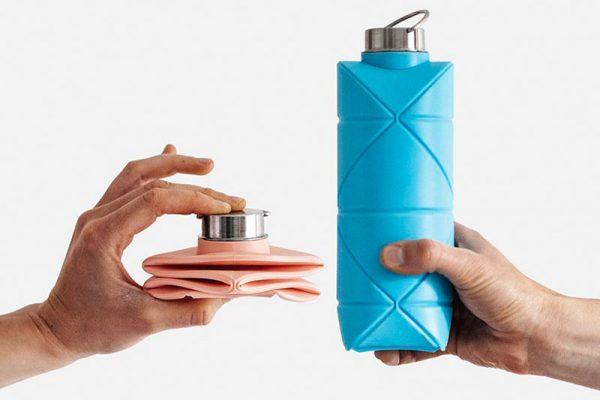 DiFOLD, DiFOLD, Bouteille d'Eau Origami Pliable et Réutilisable (video)