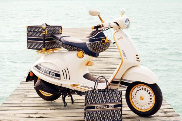 Scooter Dior Vespa, Scooter Dior Vespa 946, le Glam Chic à l'Italienne (video)