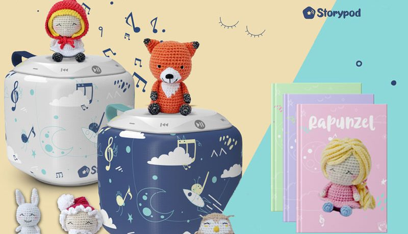 Storypod, une enceinte ludo-éducative et connectée
